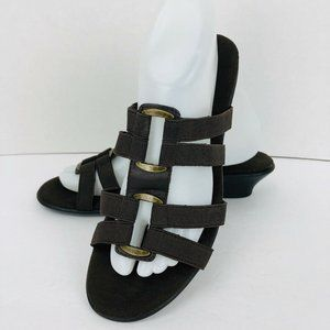 Comfort Plus Perditions Brown Sandal 9 Elastic